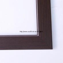 貼皮八開水彩畫框