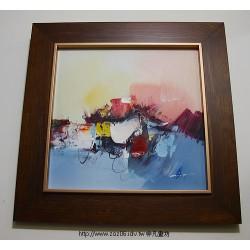 抽象油畫a1