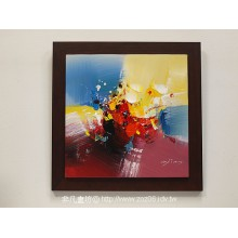 立體抽象油畫04