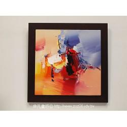 立體抽象油畫05