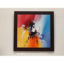 立體抽象油畫06