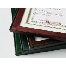 A4艷彩證書框