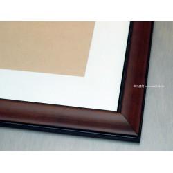 水彩畫框#325咖