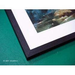 水彩畫框#225黑