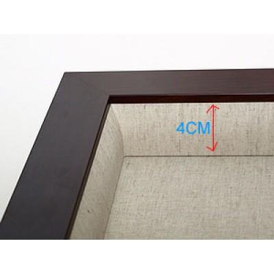 115薄咖立體框