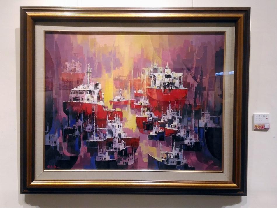 舞動彩色的世界-傅乾輝油畫回鄉首展