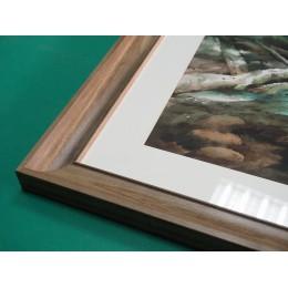 高框內弧水彩畫框