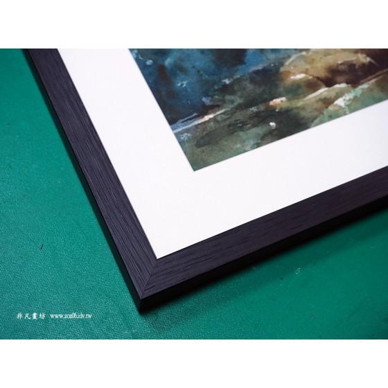 水彩畫框#252黑